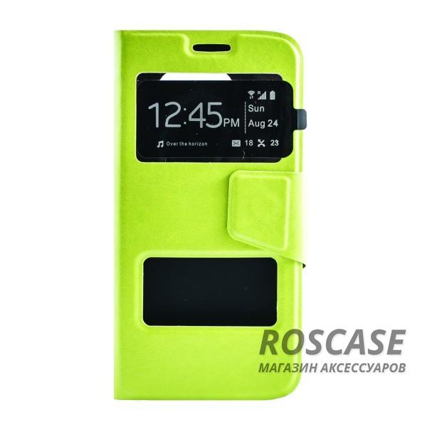 Чехол (книжка) с TPU креплением для Samsung G925F Galaxy S6 Edge (Зеленый)Описание:производитель - бренд&amp;nbsp;Epik;разработан для Samsung G925F Galaxy S6 Edge;материал: искусственная кожа;тип: чехол-книжка.&amp;nbsp;Особенности:имеются функциональные вырезы;магнитная застежка;защита от ударов и падений;окошко в обложке;ответ на вызов через обложку;не скользит в руках.<br><br>Тип: Чехол<br>Бренд: Epik<br>Материал: Искусственная кожа