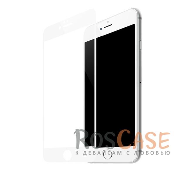 Защитное стекло CaseGuru Tempered Glass на весь экран для Apple iPhone 6/6s (4.7) (Белое)<br><br>Тип: Защитное стекло<br>Бренд: CaseGuru