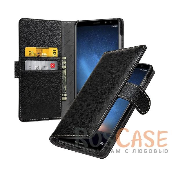 Прошитый чехол-книжка из натуральной кожи TETDED Gerzat с магнитной застежкой для Huawei Mate 10 LiteОписание:совместимость - Huawei Mate 10 Lite;материал  -  натуральная кожа;тип  -  чехол-книжка.в наличии все функциональные вырезы;легко устанавливается;строчка по периметру;магнитная застежка;внутренние кармашки для визиток;защита от механических повреждений;на чехле не заметны следы от пальцев.<br><br>Тип: Чехол<br>Бренд: TETDED<br>Материал: Натуральная кожа