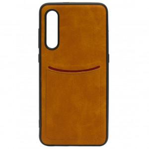 ILEVEL | Чехол с кожаным покрытием и карманом для Xiaomi Mi 9