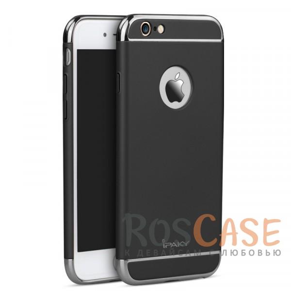 Чехол iPaky Joint Series для Apple iPhone 6/6s plus (5.5) (Черный / Серебряный)Описание:производитель: iPaky;совместимость: смартфон Apple iPhone 6/6s plus (5.5);материал для изготовления: поликарбонат;форм-фактор: накладка.Особенности:стильный дизайн;система надежной фиксации;прочный, износостойкий, не деформируется;имеет все необходимые функциональные вырезы;легко очищается.<br><br>Тип: Чехол<br>Бренд: Epik<br>Материал: Пластик