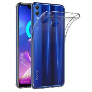 Прозрачный силиконовый чехол для Huawei Honor 8C