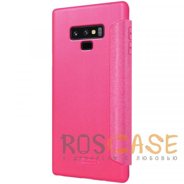 Фото Розовый Nillkin Sparkle | Чехол-книжка для Samsung Galaxy Note 9