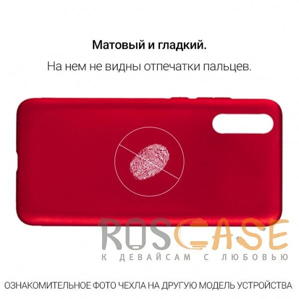 Изображение Красный J-Case THIN   Гибкий силиконовый чехол для Huawei Y7 Pro (2018)
