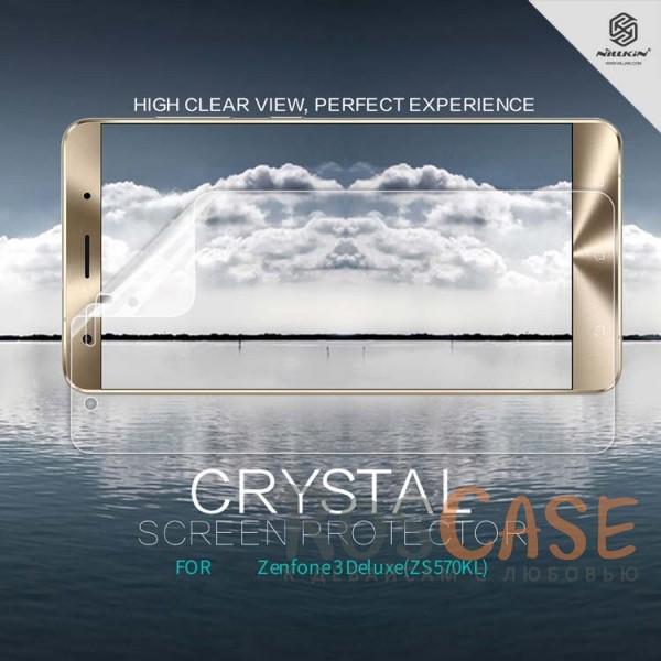 Защитная пленка Nillkin Crystal для Asus Zenfone 3 Deluxe (ZS570KL) (Анти-отпечатки)Описание:бренд:&amp;nbsp;Nillkin;спроектирована для Asus Zenfone 3 Deluxe (ZS570KL);материал: полимер;тип: прозрачная защитная пленка.&amp;nbsp;<br><br>Тип: Защитная пленка<br>Бренд: Nillkin