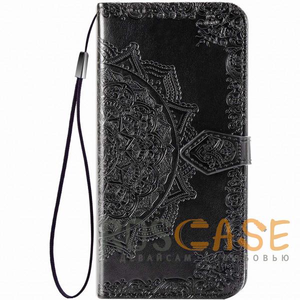 Фотография Черный Кожаный чехол (книжка) Art Case с визитницей для Xiaomi Redmi Note 8 Pro