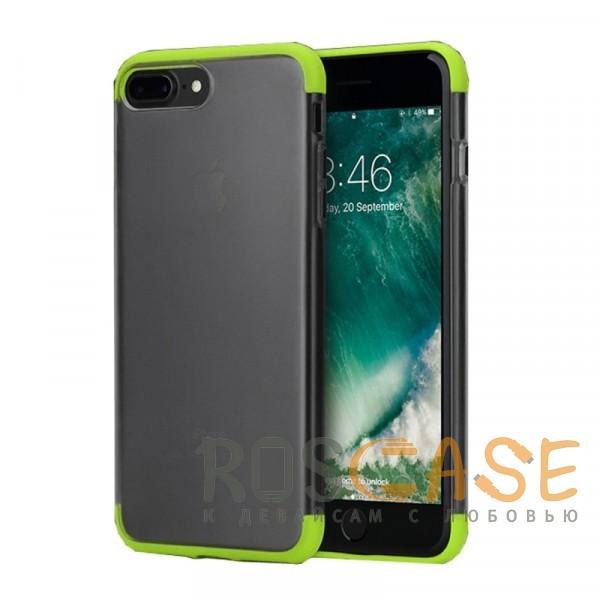 Фото Зеленый Rock Cheer | Силиконовый чехол для iPhone 7 Plus / 8 Plus с защитными цветными вставками