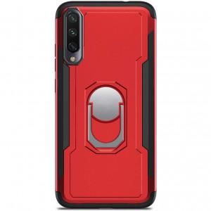 Ударопрочный чехол SG Ring Color магнитный держатель для Xiaomi Mi CC9 / Mi 9 Lite