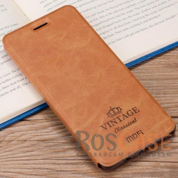 Винтажный кожаный чехол-книжка MOFI Vintage с отделением для карт и функцией подставки для Meizu M5 (Коричневый)Описание:компания-производитель: Mofi;совместимость:&amp;nbsp;Meizu M5;материалы: искусственная кожа, термополиуретан;функция подставки;отделение для карточек или купюр;формат: чехол-книжка;винтажный стиль.<br><br>Тип: Чехол<br>Бренд: Mofi<br>Материал: Искусственная кожа
