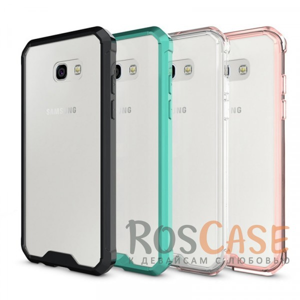 Противоударная прозрачная акриловая накладка с укрепленным бампером для защиты углов для Samsung A520 Galaxy A5 (2017)Описание:формат чехла - накладка;защищает заднюю панель и боковые грани;противоударная конструкция;разработан для Samsung A520 Galaxy A5 (2017);материалы - акрил, термополиуретан;предусмотрены все функциональные вырезы.<br><br>Тип: Чехол<br>Бренд: Epik<br>Материал: Пластик