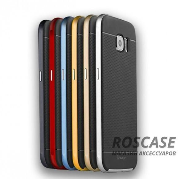Чехол iPaky TPU+PC для Samsung Galaxy S6 G920F/G920D DuosОписание:компания-разработчик: iPaky;совместимость с устройством модели: Samsung Galaxy S6 G920F/G920D Duos;материал изделия: термопластический полиуретан, поликарбонат;конфигурация: накладка-бампер.Особенности:элегантный дизайн;высокий класс прочности и износоустойчивости;легко и надежно фиксируется на смартфоне;имеет все необходимые функциональные вырезы.<br><br>Тип: Чехол<br>Бренд: Epik<br>Материал: TPU