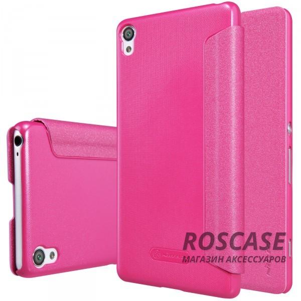 Кожаный чехол (книжка) Nillkin Sparkle Series для Sony Xperia XA / XA Dual (Розовый)Описание:компания -&amp;nbsp;Nillkin;идеальная совместимость с Sony Xperia XA / XA Dual;материалы  -  синтетическая кожа, поликарбонат;форма  -  чехол-книжка.&amp;nbsp;Особенности:защищает со всех сторон;имеет все необходимые вырезы;легко чистится;функция Sleep mode;не увеличивает габариты;защищает от ударов и царапин;блестящая поверхность.<br><br>Тип: Чехол<br>Бренд: Nillkin<br>Материал: Искусственная кожа