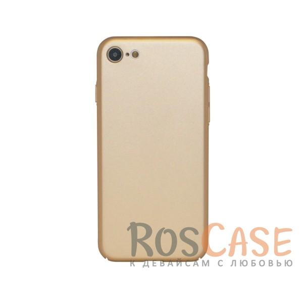 Матовая soft-touch накладка Joyroom из ударостойкого пластика с дополнительной защитой углов для Apple iPhone 7 / 8 (4.7) (Золотой)Описание:бренд - Joyroom;совместимость - Apple iPhone 7 / 8 (4.7);материал - пластик;тип - накладка.<br><br>Тип: Чехол<br>Бренд: Epik<br>Материал: Пластик