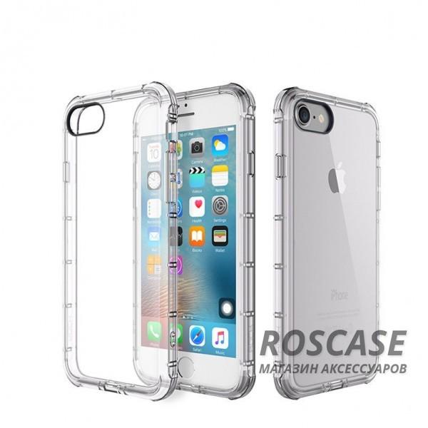TPU чехол ROCK Fence series для Apple iPhone 7 plus (5.5) (Бесцветный / Transparent)Описание:производитель  -  Rock;полностью совместим с Apple iPhone 7 plus (5.5);изготовлен из термопластичного полиуретана;имеет форму накладки.Особенности:износостойкий чехол, пыленепроницаемый;гибкий и эластичный, легко снимается и одевается;не склонен к деформированию и выцветанию;точно копирует форму устройства.<br><br>Тип: Чехол<br>Бренд: ROCK<br>Материал: TPU