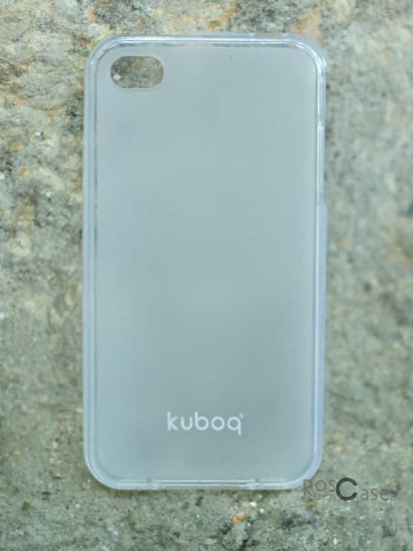 фото TPU чехла Kuboq для Apple iPhone 4/4S (+пленка)