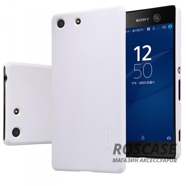 Чехол Nillkin Matte для Sony Xperia M5 / Xperia M5 Dual (+ пленка) (Белый)Описание:производитель -&amp;nbsp;Nillkin;материал - поликарбонат;совместим с Sony Xperia M5 / Xperia M5 Dual;тип - накладка.&amp;nbsp;Особенности:матовый;прочный;тонкий дизайн;не скользит в руках;не выцветает;пленка в комплекте.<br><br>Тип: Чехол<br>Бренд: Nillkin<br>Материал: Поликарбонат