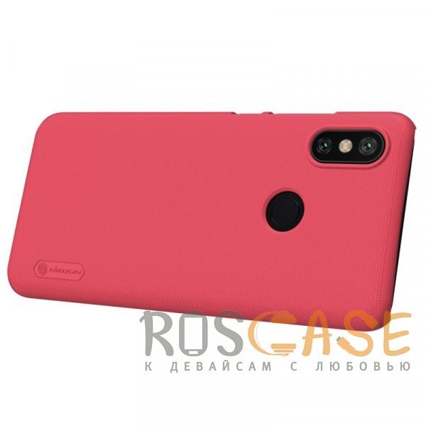 Фотография Красный Nillkin Super Frosted Shield | Матовый чехол для Xiaomi Mi 6X / Mi A2