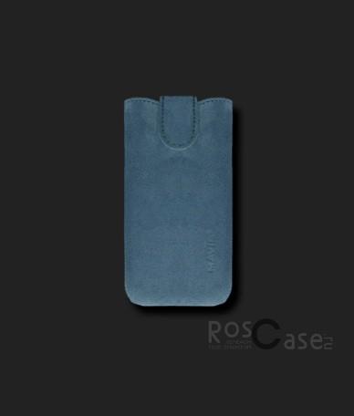 фото кожаный футляр Mavis Premium VELOUR для Nokia Lumia 620/Lenovo A820