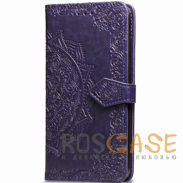 Фото Фиолетовый Кожаный чехол (книжка) Art Case с визитницей для Xiaomi Mi CC9 / Mi 9 Lite