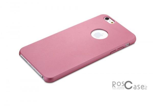 Пластиковая накладка Rock Glory Series для Apple iPhone 6/6s (4.7) (Розовый / Pink)Описание:производитель  -  Rock;идеально совместим с Apple iPhone 6/6s (4.7);материал  -  поликарбонат;тип  -  накладка.&amp;nbsp;Особенности:гладкая;имеет все необходимые вырезы;не скользит;на ней не видны отпечатки пальцев;защищает от механических повреждений;легкая установка и удаление.<br><br>Тип: Чехол<br>Бренд: ROCK<br>Материал: Пластик