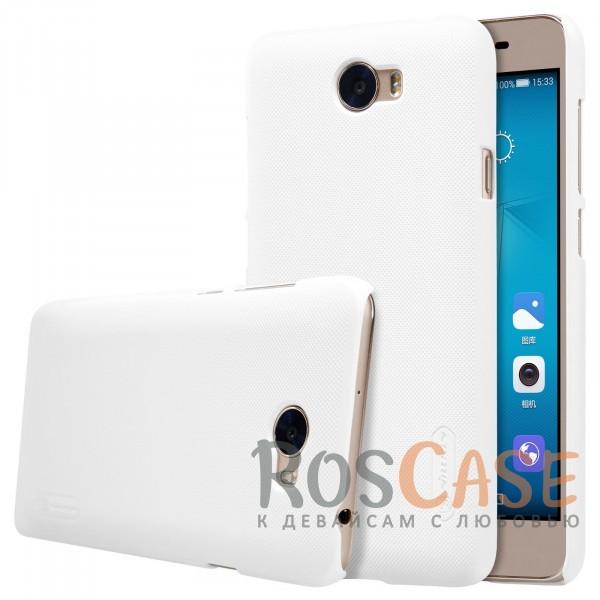 Чехол Nillkin Matte для Huawei Y5 II / Honor Play 5 (+ пленка) (Белый)Описание:бренд&amp;nbsp;Nillkin;спроектирована для Huawei Y5 II / Honor Play 5;материал - поликарбонат;тип - накладка.Особенности:фактурная поверхность;защита от ударов и царапин;тонкий дизайн;наличие функциональных вырезов;пленка на экран в комплекте.<br><br>Тип: Чехол<br>Бренд: Nillkin<br>Материал: Поликарбонат
