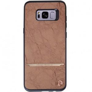 Nillkin Mercier | Чехол для Samsung G955 Galaxy S8 Plus с покрытием из искусственной кожи