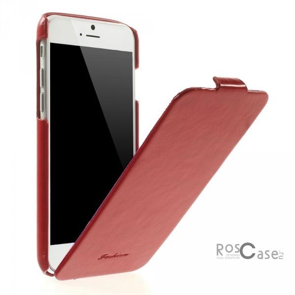 Кожаный чехол (флип) Fashion для Apple iPhone 6/6s (4.7)  (Красный)Описание:производитель  -  Epik;совместим с Apple iPhone&amp;nbsp;6/6s (4.7);материал  -  искусственная кожа;тип  -  флип.&amp;nbsp;Особенности:мягкий;имеет все необходимые вырезы;легко очищается;безмагнитная застежка;не увеличивает габариты;защищает от ударов и царапин;морозоустойчивый.<br><br>Тип: Чехол<br>Бренд: Epik<br>Материал: Искусственная кожа
