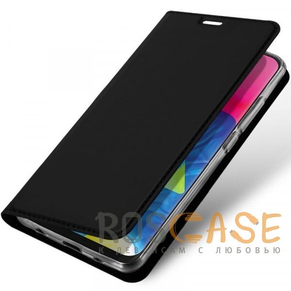 Фотография Черный Чехол-книжка Dux Ducis с карманом для визиток для Samsung Galaxy A70 (A705F)