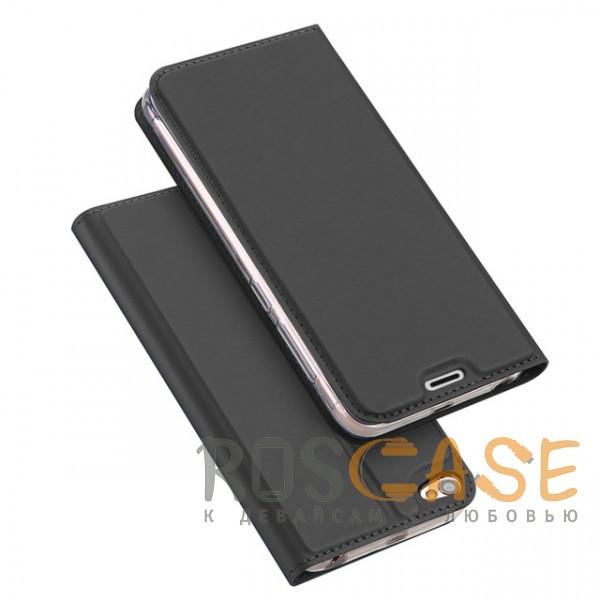 Изображение Серый Dux Ducis | Чехол-книжка для Xiaomi Redmi Note 5A / Redmi Y1 Lite с подставкой и карманом для визиток