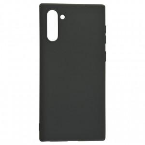 Силиконовый матовый однотонный чехол 0.5 мм для Samsung Galaxy Note 10