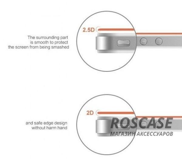 фото защитное стекло High Quality Tempered Glass 0.33mm (2.5D) для Apple iPad 2/3/4