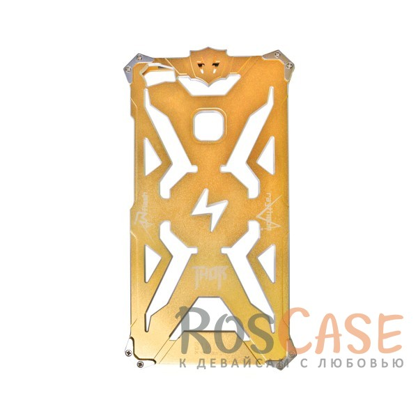 Противоударный чехол из авиационного алюминия на винтах Thor для Xiaomi Mi Max (Золотой)<br><br>Тип: Чехол<br>Бренд: Epik<br>Материал: Металл