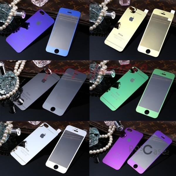 фото защитное стекло Premium Tempered Glass 0.26mm (2.5D) на обе стороны для Apple iPhone 5/5S/5SE