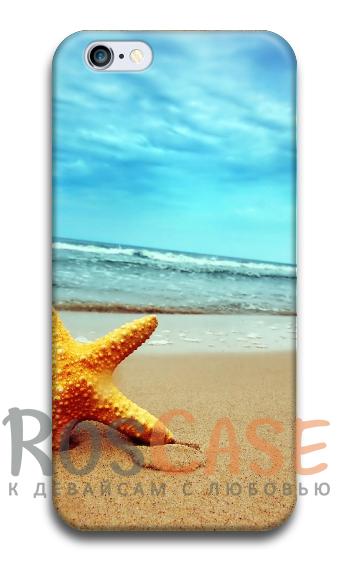 """Фото Морская звезда Пластиковый чехол RosCase """"ЛЕТО!"""" для iPhone 6/6s (4.7"""")"""