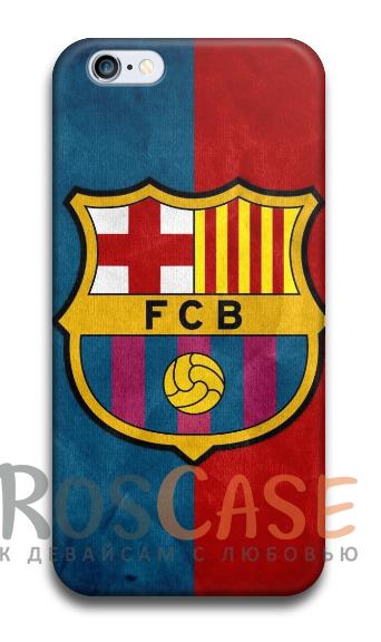 """Фото Барселона Пластиковый чехол RosCase """"Футбольные команды"""" для iPhone 5C"""