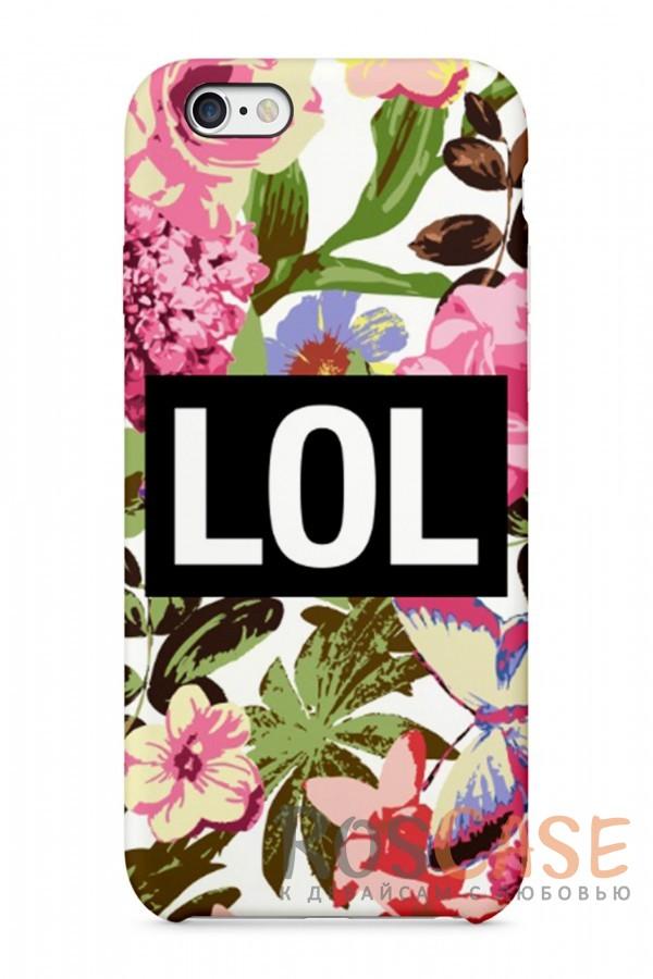 "Фото  Lol Пластиковый чехол RosCase ""Отпуск"" для iPhone 6/6s (4.7"")"