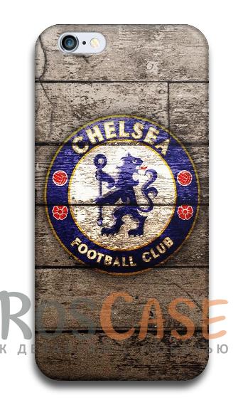 """Фото Челси №2 Пластиковый чехол RosCase """"Футбольные команды"""" для iPhone 5C"""