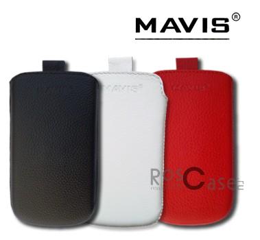 Фото кожаного чехла Mavis Classic для Nokia Asha 305 / 306