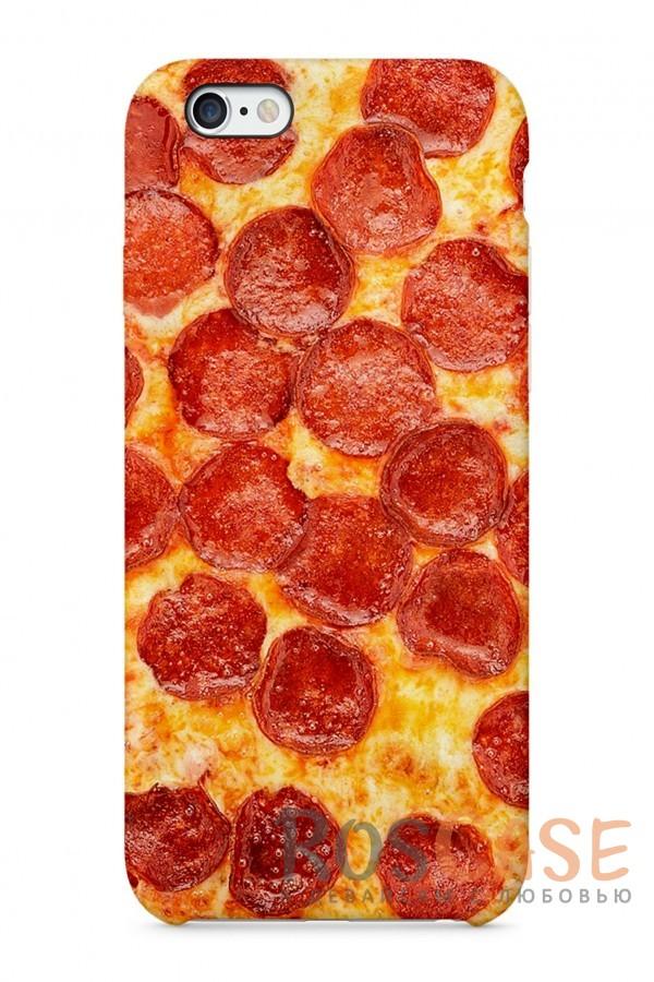 "Фото Пицца Пластиковый чехол RosCase ""Еда"" для iPhone 6/6s (4.7"")"
