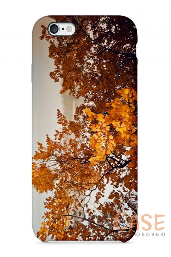 """Фото Золотая Осень Пластиковый чехол RosCase """"Осень"""" для iPhone 6/6s (4.7"""")"""