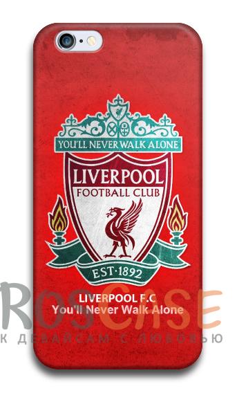 """Фото Ливерпуль Пластиковый чехол RosCase """"Футбольные команды"""" для iPhone 5C"""