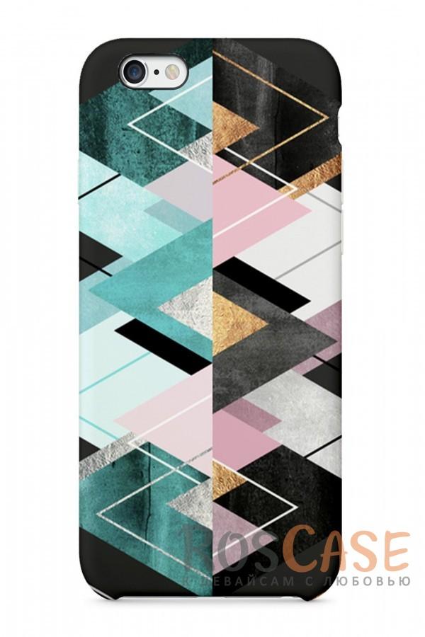 """Фото Зигзаг Пластиковый чехол RosCase """"Узоры"""" для iPhone 6/6s (4.7"""")"""