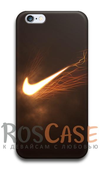 "Фото №2 Пластиковый чехол RosCase ""Nike"" для iPhone 4/4S"