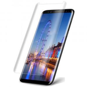 Защитное 3D стекло Autobot UV Full Glue с УФ лампой для Samsung G955 Galaxy S8 Plus