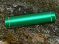 Epik Дополнительный внешний аккумулятор (Металлический Цилиндр) (2600mAh) (Зеленый)