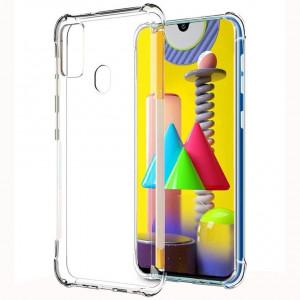 King Kong | Противоударный прозрачный чехол для Samsung Galaxy M31 с защитой углов
