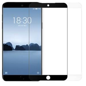 Artis 2.5D | Цветное защитное стекло на весь экран для Meizu 15 Lite / M15 (China) на весь экран