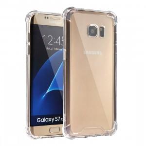 King Kong Armor | Противоударный прозрачный чехол для Samsung G935F Galaxy S7 Edge с дополнительной защитой углов