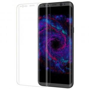 Прозрачное защитное стекло 3D с закругленными краями для Samsung G950 Galaxy S8