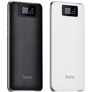 Hoco B23A | Портативное зарядное устройство Power Bank с фонариком на 2 USB (15000 mAh)